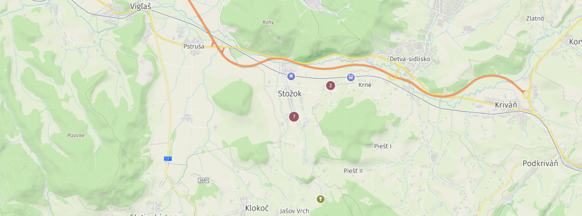 NOVÝ -  Návrh  Územného plánu obce Stožok