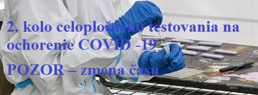 Celoplošné pretestovanie COVID - 19